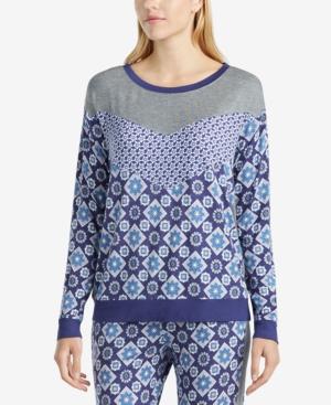 Layla Mixed-Print Pajama...