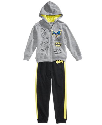 DC Comics® Batman 2-Pc. Hoodie & Pants Set, Little Boys