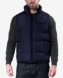 Hawke & Co. Outfitter Men's Weather-Resistant Puffer Vest