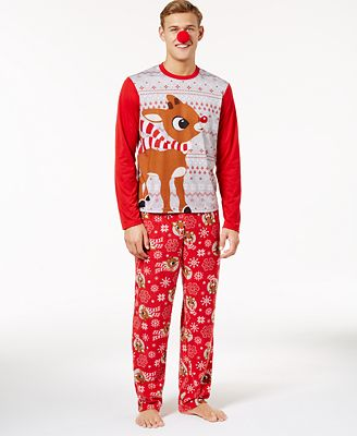 Briefly Stated Men's Rudolph Pajama Set