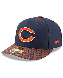 New Era Chicago Bears Sideline Low Profile 59FIFTY Fitted Cap