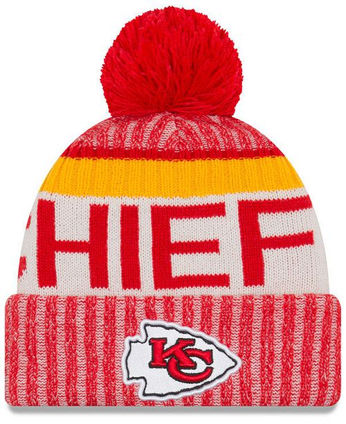 New Era Kansas City Chiefs Sport Knit Hat - Sports Fan Shop By Lids ... 70af97ca6da6