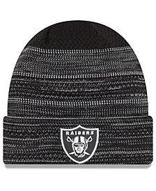 New Era Oakland Raiders Touchdown Cuff Knit Hat