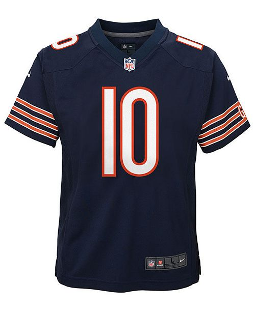 Nike Mitchell Trubisky Chicago Bears Game Jersey 5a8ee9dfe