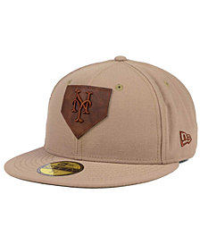 New Era New York Mets The Logo of Leather 59FIFTY Fitted Cap