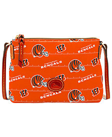 Dooney & Bourke Cincinnati Bengals Nylon Crossbody Pouchette
