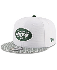 New Era Boys' New York Jets 2017 Official Sideline 9FIFTY Snapback Cap