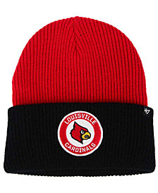 '47 Brand Louisville Cardinals Ice Block Knit