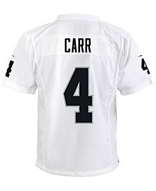 Nike Derek Carr Oakland Raiders Game Jersey, Big Boys (8-20)
