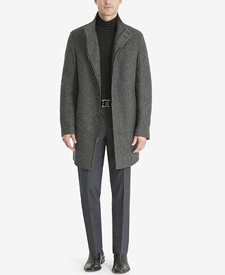 Calvin Klein Men's Milton Slim-Fit Overcoat