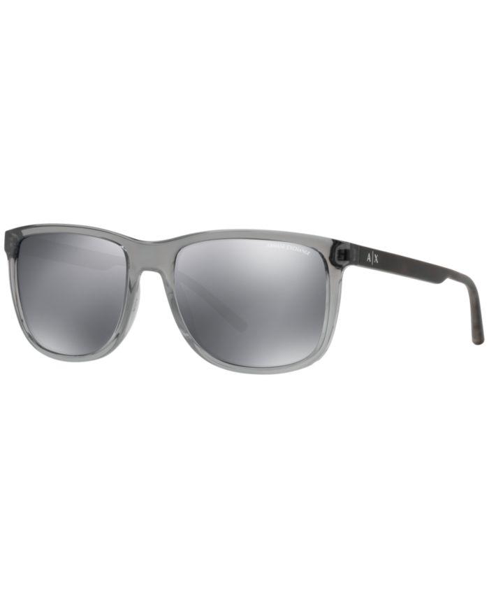A|X Armani Exchange A|X Sunglasses, AX4070S & Reviews - Sunglasses by Sunglass Hut - Men - Macy's