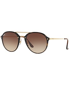 Sunglasses, RB4292N BLAZE DOUBLEBRIDGE