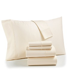 CLOSEOUT! AQ Textiles Bradford StayFit 6-Pc. Queen Sheet Set, 800 Thread Count Combed Cotton Blend