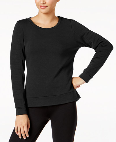 32 Degrees Quilted Fleece Top