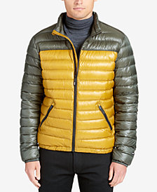 DKNY Men's Packable Puffer Jacket
