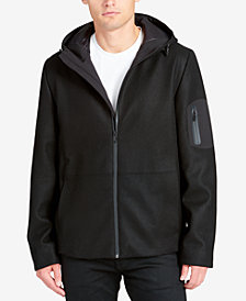 DKNY Men's Performance Hoody Coat