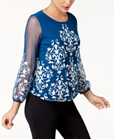 evening tops - Shop for and Buy evening tops Online - Macy\'s