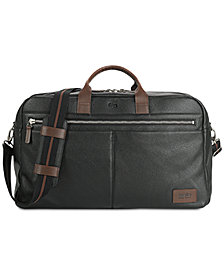 Solo Men's Bayside Leather Duffel Bag