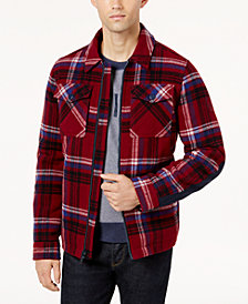 Tommy Hilfiger Men's Plaid Jacket