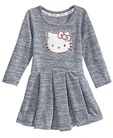 Hello Kitty Pleated Dress, Baby Girls