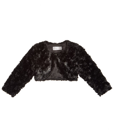 Bonnie Baby Faux-Fur Jacket, Baby Girls