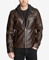 85a0d6994c9f Men s Faux Leather Jacket  Shop Men s Faux Leather Jacket - Macy s