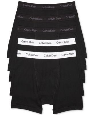 캘빈 클라인 Calvin Klein Mens 5-Pack. Cotton Classic Boxer Briefs