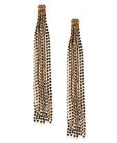 I.N.C. Crystal Chain Linear Drop Earrings, Created for Macy's
