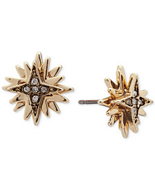 Ivanka Trump Gold-Tone Multi-Star Crystal Stud Earrings
