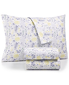 bluebellgray 230 Thread Count Queen Cotton Printed Sheet Set