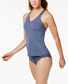 Nike Racerback Tankini & High-Waist Bottoms