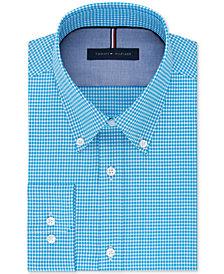 Tommy Hilfiger Men's Slim-Fit Non-Iron Check Dress Shirt
