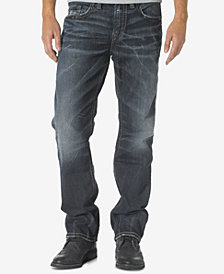 Siver Jeans Co. Men's Grayson Easy Fit Straight Jeans