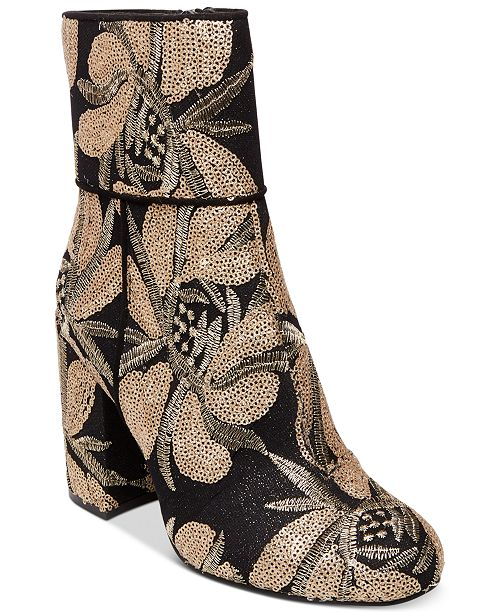 7f4c5b7b9a9 Steve Madden Goldie Block-Heel Booties   Reviews - Boots - Shoes ...
