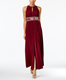 R&M Richards Beaded Gown