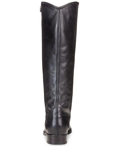 ef1a2e4d0be Frye Women s Melissa Button 2 Tall Boots   Reviews - Boots - Shoes ...