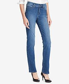 Lauren Ralph Lauren Petite Ultimate Slimming Premier Straight-Leg Jeans