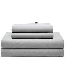 Tommy Hilfiger Chambray 2-Pc. King Pillowcase Set