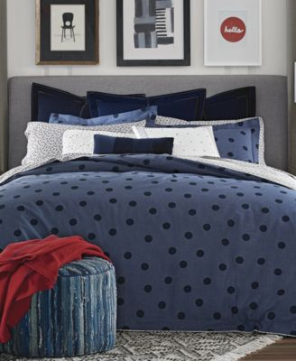 Olympia Dot Reversible 2-Pc. Twin/Twin XL Comforter Set
