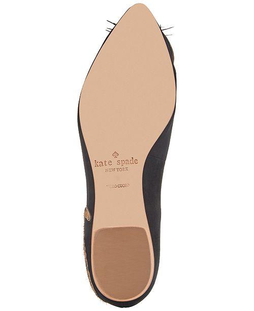 002aa2d0e129 kate spade new york Norman Ballet Flats   Reviews - Flats - Shoes ...