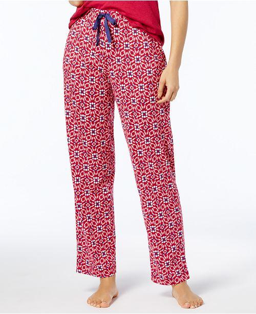 Nautica Printed Knit Pajama Pants