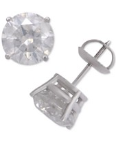 85e7e3157 Diamond Stud Earrings (4 ct. t.w.) in 14k White Gold