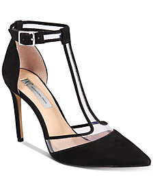 I.N.C. Kaeley T-Strap Pumps, Created for Macy's