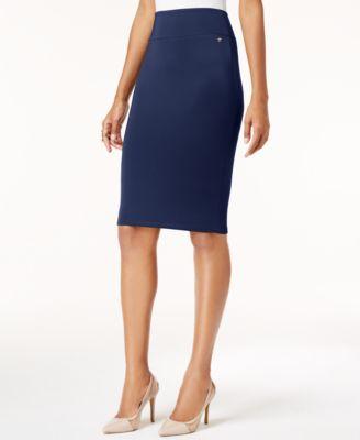Scuba Pencil Skirt, Created for Macy's