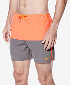 "Nike Men's Colorblocked Split Volley 5-1/2"" Swim Trunks"