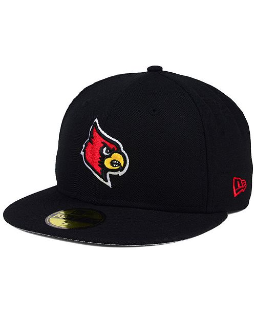 pretty nice c0499 31893 ... New Era Louisville Cardinals AC 59FIFTY Fitted Cap ...