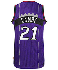 adidas Men's Marcus Camby Toronto Raptors Retired Player Swingman Jersey