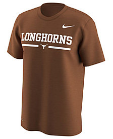 Nike Men's Texas Longhorns Fresh Trainer Hook T-Shirt