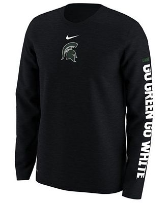 Nike Men's Michigan State Spartans Fresh Trainer Hook T-Shirt vakZc
