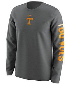 Nike Men's Tennessee Volunteers Fresh Trainer Hook Long Sleeve T-Shirt